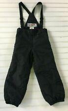 Obermeyer Snow Pants Sz 4 Preschool Black bib overall pants excellent condition