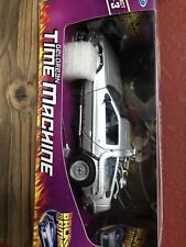 Welly 1/24 diecast Delorean Time Machine car model FlyMode back to the Future Ii