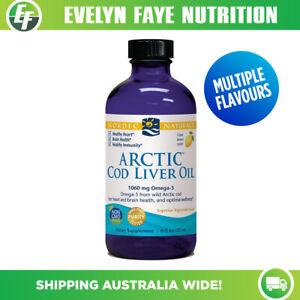NORDIC NATURALS Arctic Cod Liver Oil Liquid - 237ml (8 fl oz) | 1060mg Omega-3
