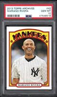 2013 Topps Archives #42 MARIANO RIVERA New York Yankees PSA 10 GEM MINT