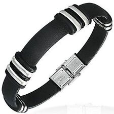 Armbänder im Armreif-Stil aus Edelstahl für Herren
