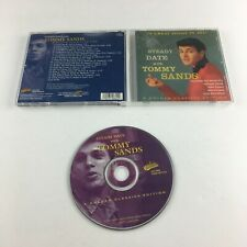 Tommy Sands Steady Date With Tommy Sands, 18 Great Songs In All! Used CD VG+ COL