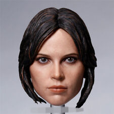 Rogue One Chief Actress Jyn Erso Head Carving 1/6 scale Female Head Sculpt