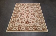 CHINESE,TRADITIONAL,FLORAL, RUG,224 x 160CM,IVORY,KHAKI GREEN,YELLOW,