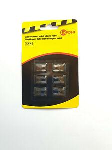 KFZ Flachsteck Sicherungen Flachstecksicherungen 6er Pack mini 7,5A B=11,8mm NEU