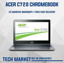 "REFURBISHED 11.6"" ACER CHROMEBOOK C720 WITH CHROME OS WEBCAM HDMI NOTEBOOK CHEAP"