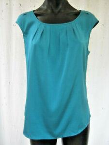 ANNA THOMAS, As New, 12, A Gorgeous Design In 97% Silk, 3% Sp. An Amazing Blue!