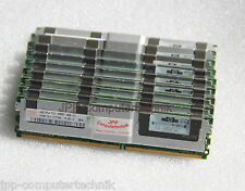 16GB 4x 4 GB DDR2 CL5 PC2-5300F FB DIMM RAM HP XW6600 XW8400 XW8600 466436-061