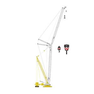 Liebherr LR1600-2 Crane w/ Derrick Rig Mediaco NZG 1:50 Scale Model #843/09 New!