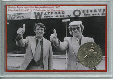 Watford Vintage Vicarage Road Graham Taylor & Elton John Fan Gift Coin Set 1977