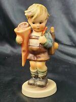 "Goebel Hummel #80 Little Scholar 5.5"" Figurine Little Boy With Backpack"