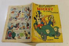 LES BELLES HISTOIRES DE DISNEY  MICKEY et l auto magique de 1952  première série