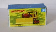 Repro Box Matchbox 1:75 Nr.16 Case Tractor