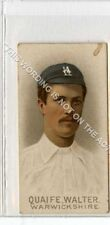 More details for (gb2176-495) wills, cricketers 1896, walter quaife, warwickshire g-vg