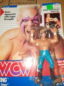 Vintage WCW Sting 1990 in pkg