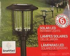 Alpan SmartYard Solar LED Pathway Walkway Lights, 6 Pack