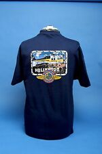 L.A. County Fire Department Air Operations T Shirt. Firehawk Over Hollywood.