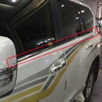 For Toyota Land Cruiser Prado J150 2010-2018 Window frame Strips Cover Trim