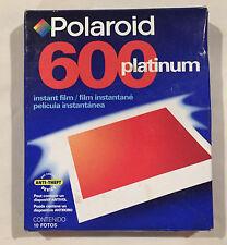 Polaroid 600 Platinum Instant Film