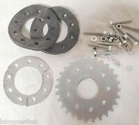 28 teeth flat sprocket with mount - 80cc Motor bicycle GAS ENGINE parts