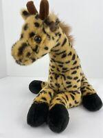 Rainforest Cafe Spotted Giraffe Large Stuffed Plush Cute Animal Smoke Free Home