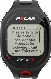 Polar RCX3M Pulsuhr Herren Sportuhr Herzfrequenz-Messgerät schwarz
