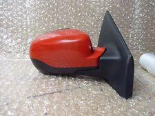 RENAULT Clio MK3 Destro Guidatore Lato Ala Specchio Rosso 2009 - 2012