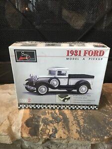 SPEC CAST MODEL KIT 1931 FORD Model A Pickup Skill Level 2 Die Cast Metal 1:25