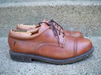 Frye #84425 Perth Men's Shoes Casual Brown Leather Cap Toe Oxfords Size 9.5 M