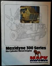 Mack Maxidyne 300 Series Engine Brochure