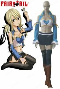 new Fairy Tail Lucy Heartfilia 7 years later Cosplay Costume