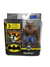 "Manbat DC 1st Edition Spin Master 4"" Action Figure The Caped Crusader"