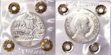 2 LIRE 1911 QUADRIGA REGNO D'ITALIA VITTORIO EMANUELE III Q.BB R2 #P299