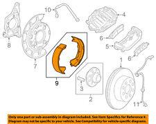 GM OEM Parking Brake-Shoes 22937747