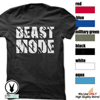 BEAST MODE c66 Gym Men's Bodybuilding T-shirt -Bodybuilding and Fitness