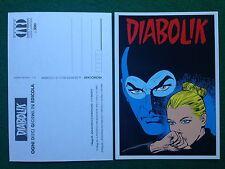 Cartolina Card DIABOLIK - UNA SCARICA DI ADRENALINA Promocard n 39/590 (1996)