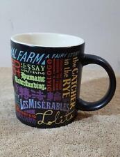Banned Books Mug 12 oz Coffee Cup Mug Unemployed Philosophers Guild LOLITA