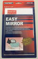 """Replacement Mirror 5"""" x 8"""" Polyway Car, truck Stick on Universal #EM3126"""