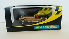 Scalextric special edition  Caterham 7 gold