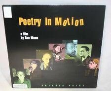 Laserdisc {P} * Poetry in Motion * Helen Adam Miguel Algarín Amiri Baraka Ron Ma