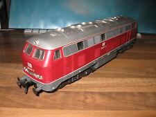Spur 0 Rivarossi 7180 DB Diesellok V 160 / BR 216 weinrot, Topzust., in OVP