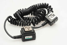 Nikon Sc-28 Ttl Coiled Flash Remote Cord Sc28 #973