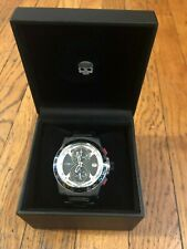 Hydrogen Watch Otto Chrono Black Link New With Box