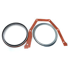 5.9L Engine Rear Main Bearing Gasket Seal Set For Dodge Cummins Turbo 4947667