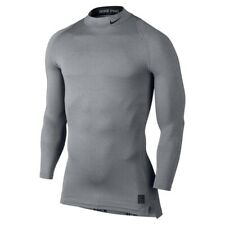 Men's Size XL ⭐️ Nike Pro Combat Dri-Fit Compression Grey Long Sleeve Sweatshirt