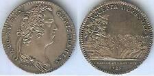 Jeton royal - Louis XV 1725 chambre aux deniers argent / silver 6 gr d=29mm