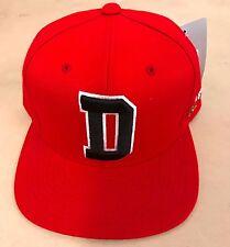 ST GEORGE DRAGONS D NRL TEAM LOGO ADJUSTABLE SNAP BACK HAT RED