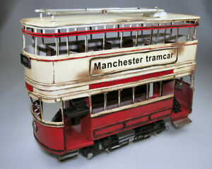 Model Car vehicles Timplate Gift's Manchester Tramcar buses Toys London