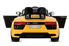 Lizenz Kinder Elektro Auto Audi R8 Spyder 2x 35W 2X6V(12V)2.4G RC EVA Softreifen