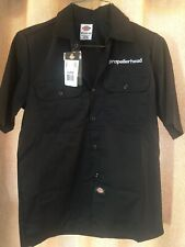 New Dickies Black Propellerhead Work Shirt Size XL Short Sleeve